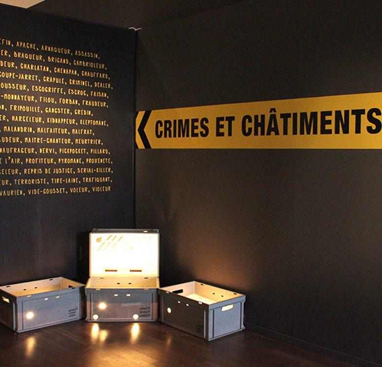 Musée historique de Lausanne, Crimes et châtiments